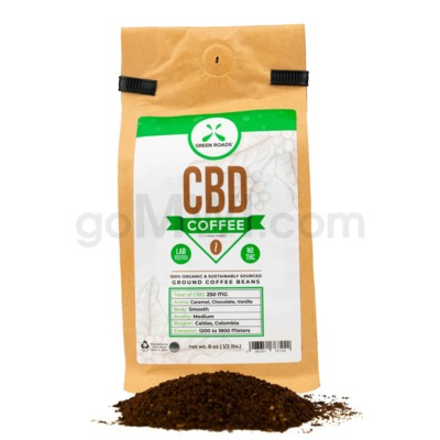 Green Roads CBD Coffee 8oz 250MG
