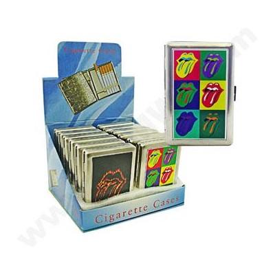 Cigarette Case Rolling Stones 12PC/BX