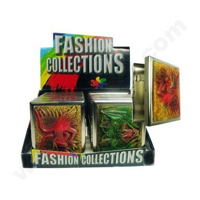 DISC Fashion Cigarette Case 12PC/BX Polystone Fantasy Asst