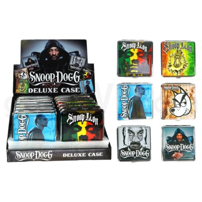 DISC Snoop Dogg Leather Cig Case 12PC/BX