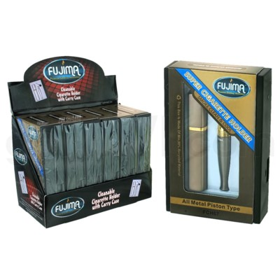 Fujima Cleanable Cigarette Holder w/Carry Case 6ct
