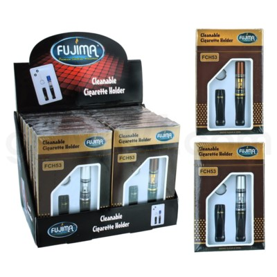 Fujima Cigarette Case Cleanable Holder 12PC/BX
