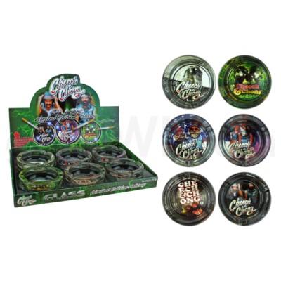 DISC  Cheech & Chong Ashtray 6PC/BX