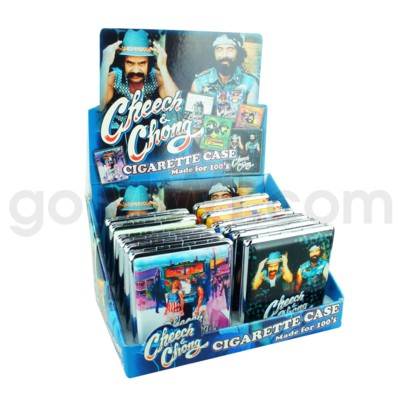Cheech & Chong Leather Cigarette Case 12CT/BX