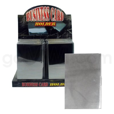 DISC Metal Business card holder 12/12/144