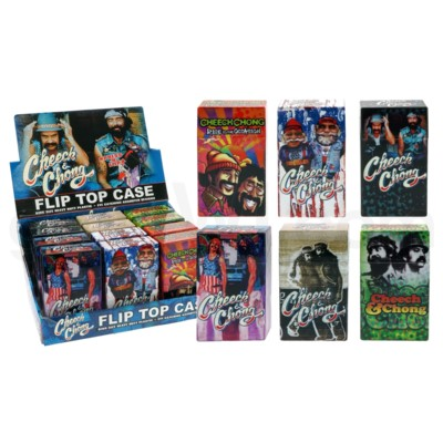 DISC Cheech & Chong Cig Case Pop Up 12PC/BX