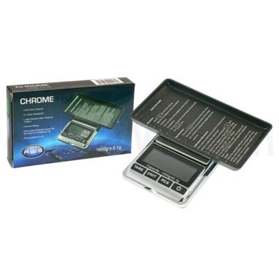 AWS CHROME-1KG 1000g x 0.1g Pocket Scales