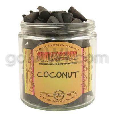 DISC Wildberry Incense Coconut Cones