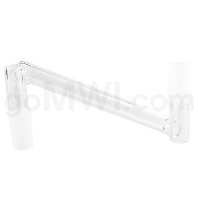 Quartz: 14mm Male to 14mm Male Drop Down