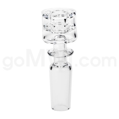 Quartz:14mm Diamond Knot Domeless Male Joint