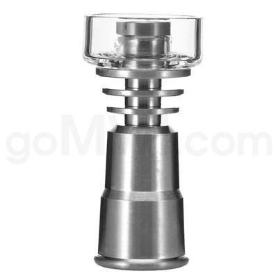 Titanium:10/14/19mm 6-in-1 Quartz Bowl Titanium