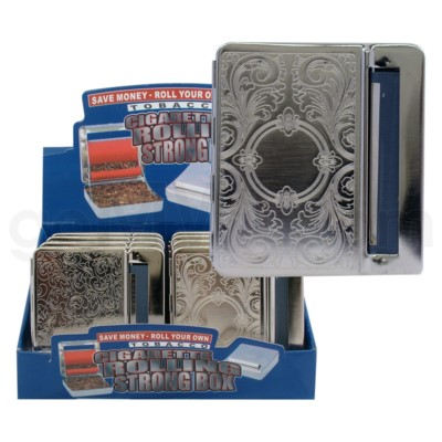 INAC Cigarette Metal Rolling Strong Assorted Design Box