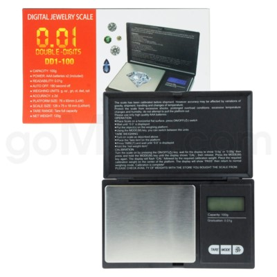 Double Digits DD1-100 100g x 0.01g Scales