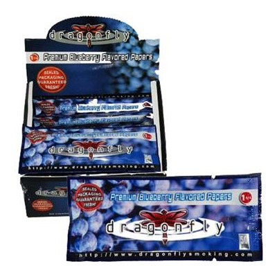 DISC Dragon Fly  Paper 50 Leaves/12 pk/BX Blueberry