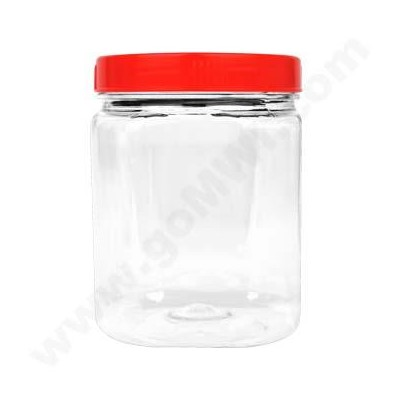 Plastic Display Jar Small