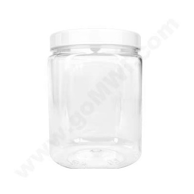 Plastic Display Jar 3pc (SM MED LG) KIT