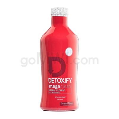 Detoxify Mega Clean Metaboost Tropical 32oz w/ 1ct capsule