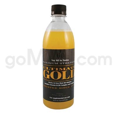 Ultimate Gold Detox 16oz. 12/cs
