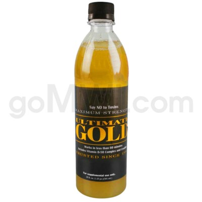 Ultimate Gold Detox 20oz. 12/cs