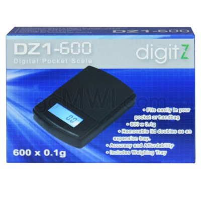 Digitz DZ1-600 600g x 0.1g Scales