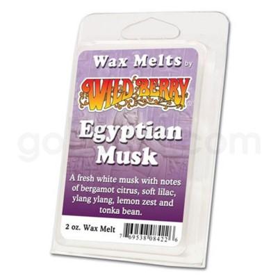 Wildberry Incense Egyptian Musk Wax Melt