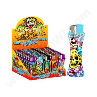 DISC Ed Hardy Curve Elec. Series D Lighter  50CT/BX