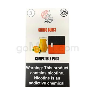 EON Pods Nic-Salt 1ml 6% 4ct- Citrus 5PC/BX