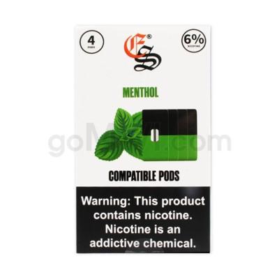 EON Pods Nic-Salt 1ml 6% 4ct- Menthol 5PC/BX