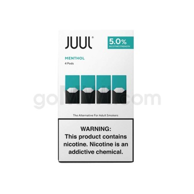 Juul Pods Cartridges 0.7ml 5% Strength 4ct -Classic Menthol