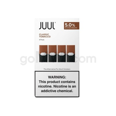 Juul Pods Cartridges 0.7ml 5% Strength 4ct -Classic Tobacco