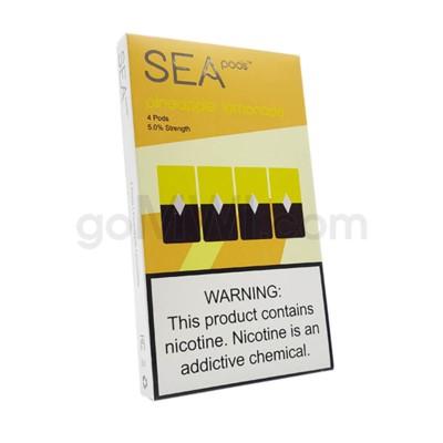 Sea Pods Nic-Salt Pods 1ml 5% 4ct - Pineapple Lemonade 8PC/BX