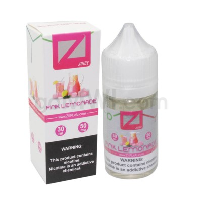 Ziip Salt Nic E-Juice 30ml 50mg Nicotine- Pink Lemonade
