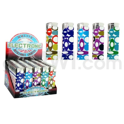 DISC Lighter Nulite Elc. Circles 50CT/BX