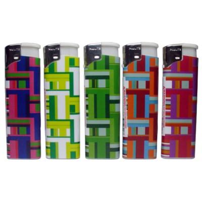 DISC Lighter Nulite Electronic Plaid  50CT/BX 20/CS
