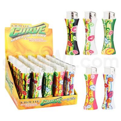 DISC Nulite Curve Lighter: Asst. Lips Design
