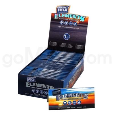 Elements Ultra Rice 1 1/4 50/pk 25ct/bx 24/cs