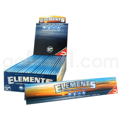 Elements Foot Long Papers 24/pk 22ct/bx 42/cs