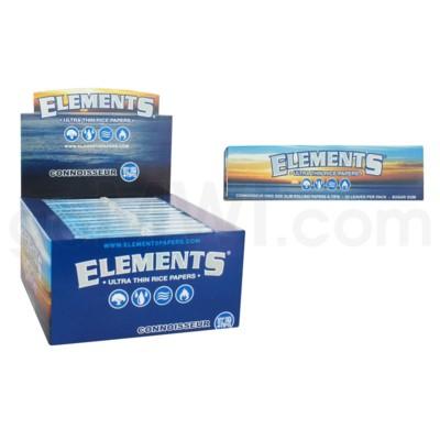 Elements Ultra Rice Connoisseur King Size Sim 33/pk 24ct/bx