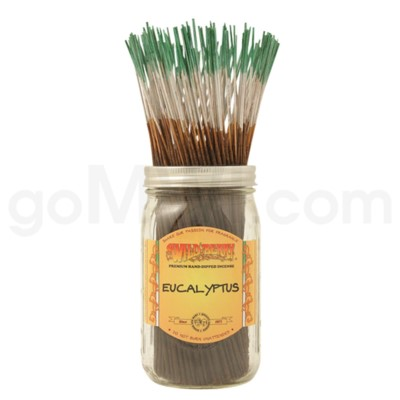 Wildberry Incense Eucalyptus 100/ct