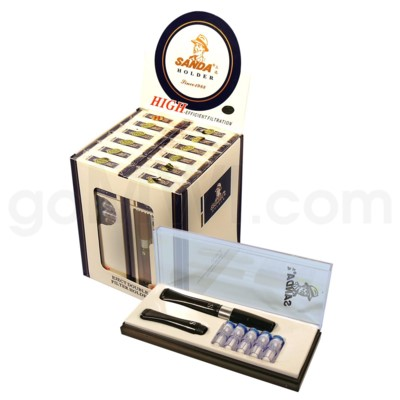 Sanda Cigarette Holder with 5 Cartridges 12PC/BX