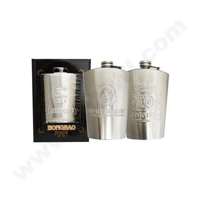 Flasks 6 oz with Gift Box