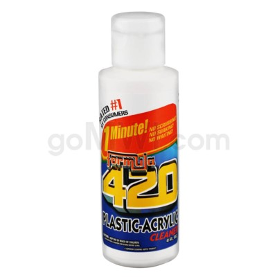 Formula 420 Acrylic / Plastic cleaner 4oz 24PC/CS