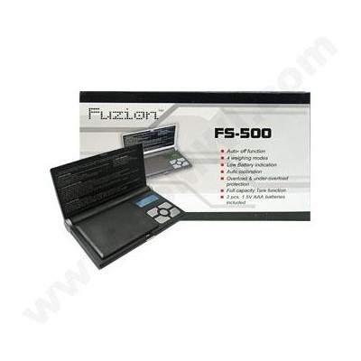 DISC Fuzion Notebook Pocket 500X 0.1G  Scales