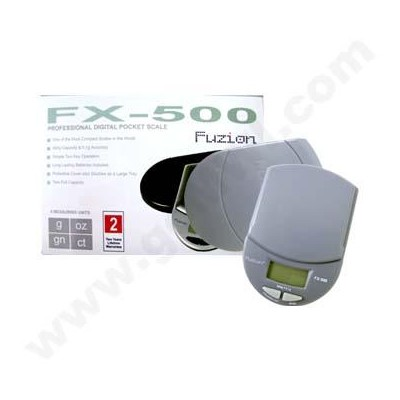 DISC Fuzion PocketFX500g x 0.1g  Scales