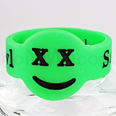 Save-A-Bowl Silicone Band Wrap X-Out - Green/Black
