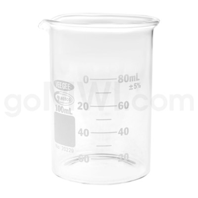 Beaker 100ml 12PC/BX