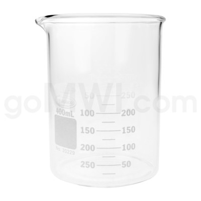 Beaker 400ml 12PC/BX