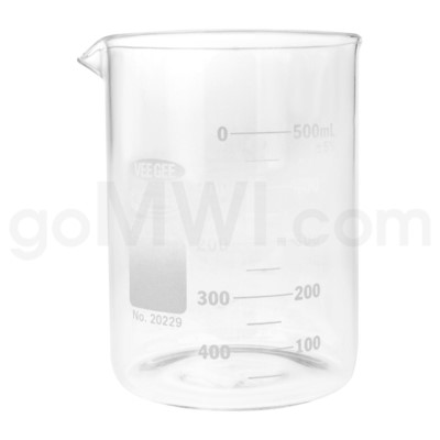 Beaker 600ml 6PC/BX