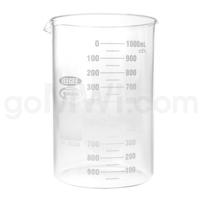 Beaker 1000ml 6PC/BX