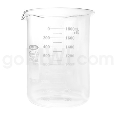 Beaker 2000ml 4PC/BX